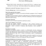 Relazione finale tirocinio biblioteca Petrarca - pag.1