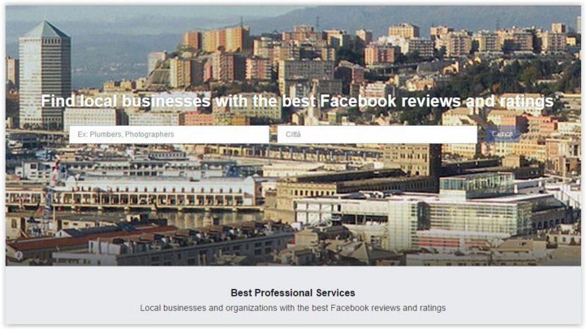 Facebook Professional Service