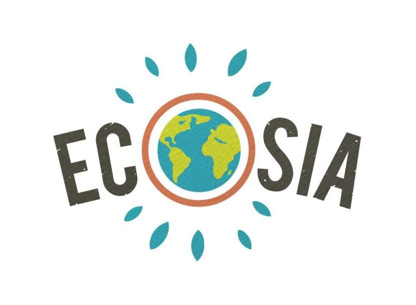 Logo del motore di ricerca Ecosia