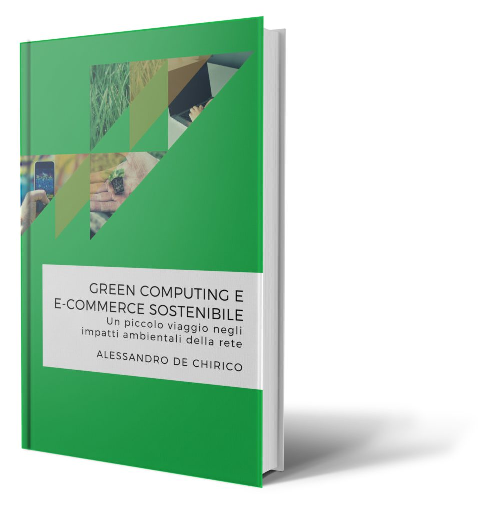"Copertina del libro ""Green computing e e-commerce sostenibile"""