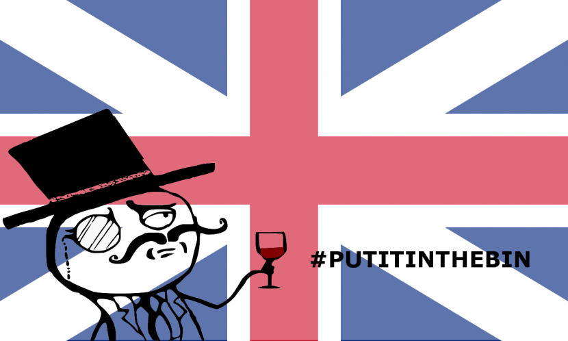#Ioloraccolgo parla inglese, #putitinthebin