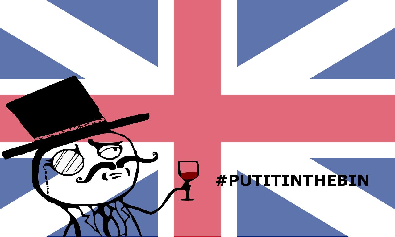 #Ioloraccolgo parla inglese, #putitinthebin
